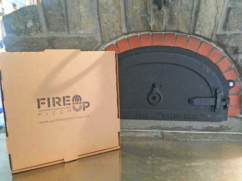 wood fired bricked oven fire it up pizza oven