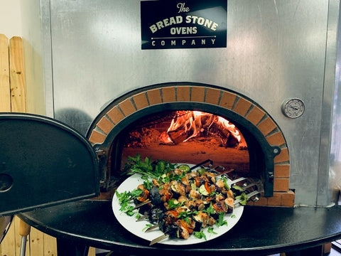 Wood Fired Brick Oven Kebab Skewers