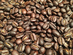 oven roasted coffee beans