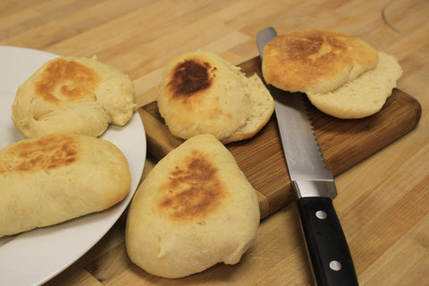 wood fired english muffin recipe