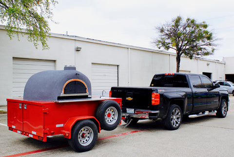Pizza Oven Trailer Spare Tire