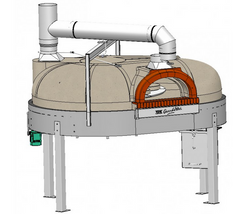 1200 Rotating Oven