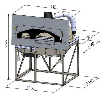 Pro-R Oven with Rotating Floor