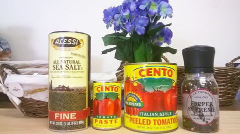 Wood-Fired Pizza Sauce Ingredients