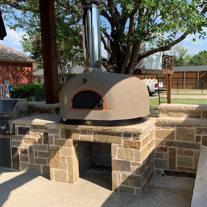 Outdoor Turnkey Brick Oven