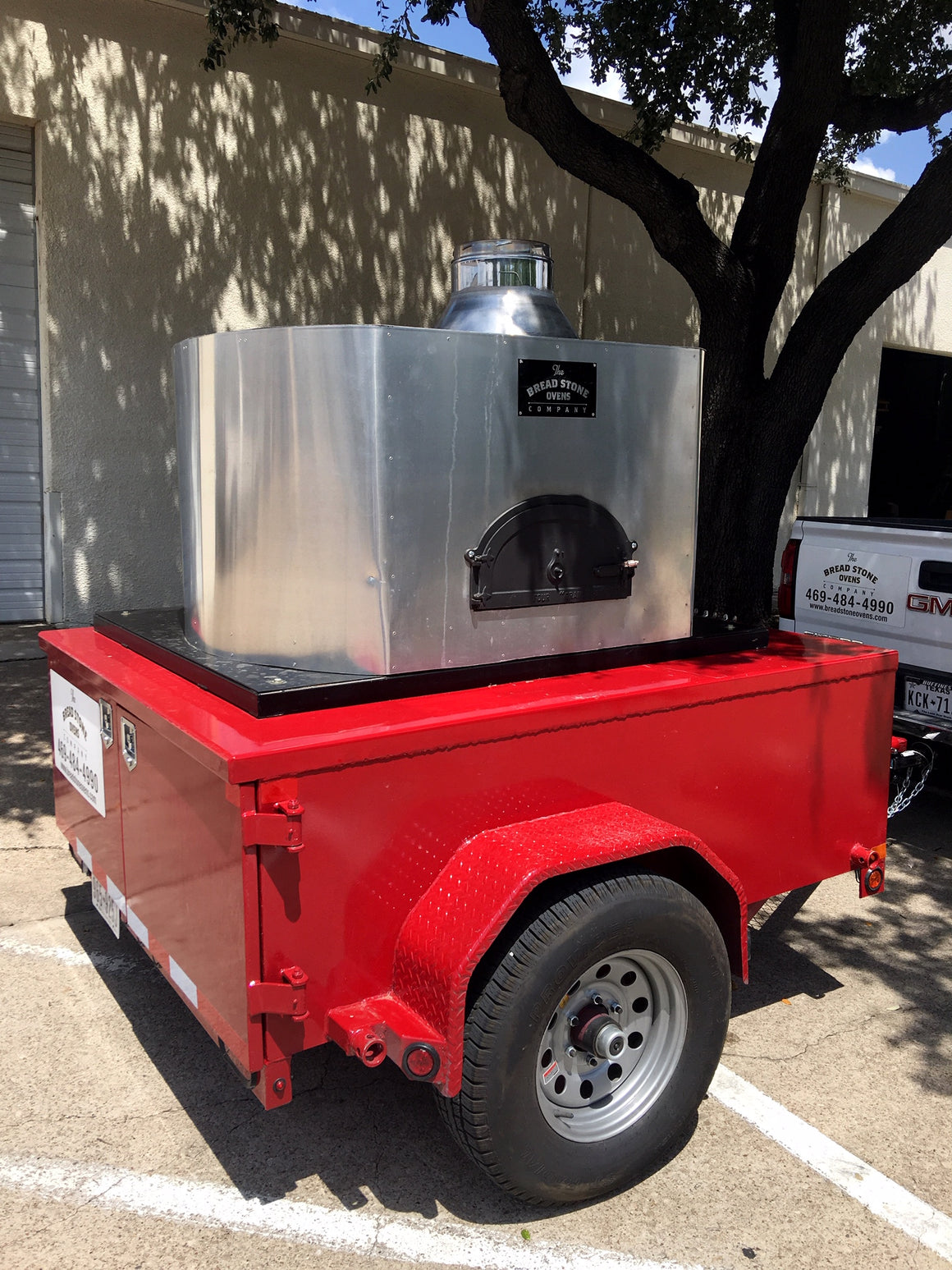 Mobile Brick Oven Trailer Rental 1030 C