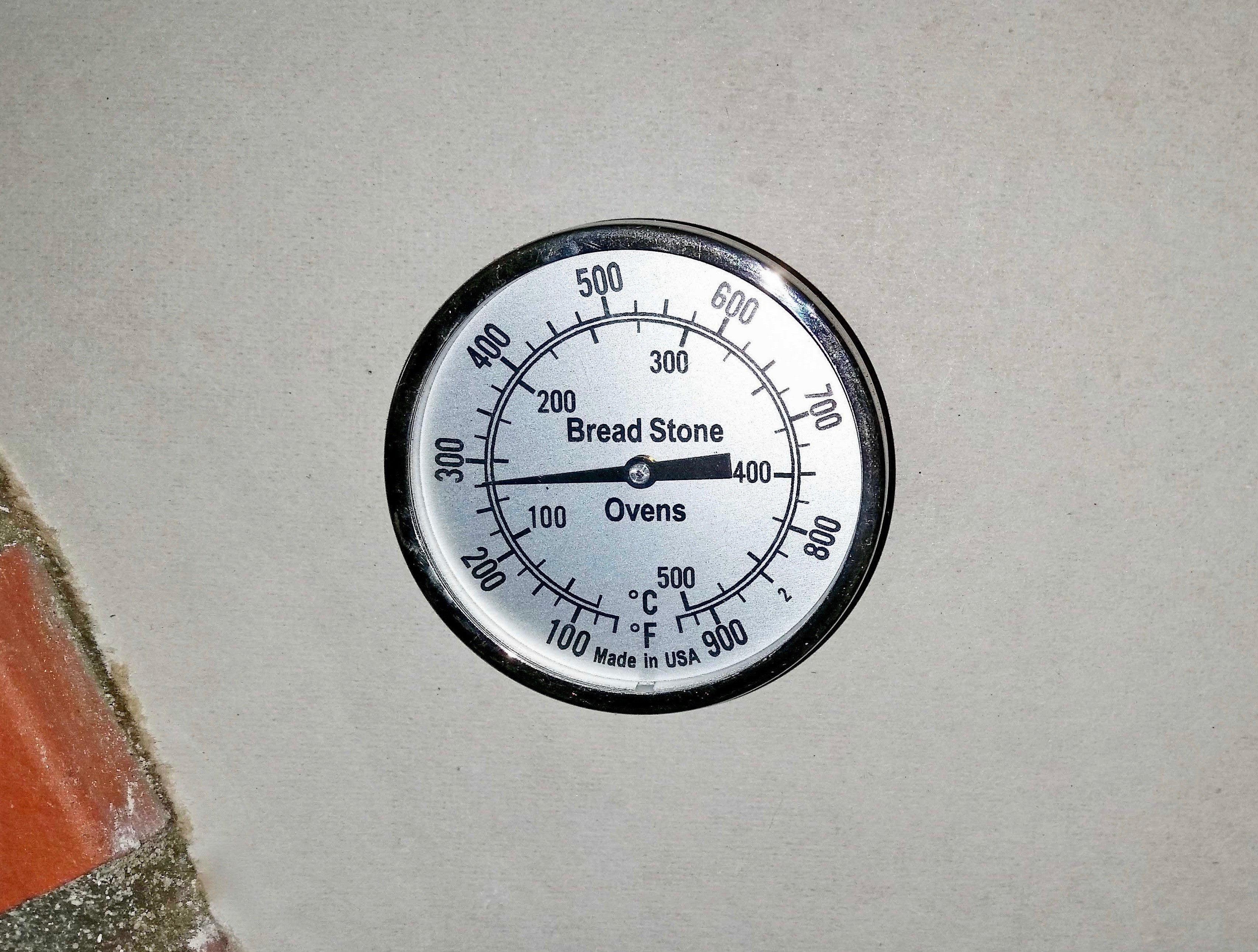 16 Quot Long Probe Dome Thermometer For Wood Fired Oven The