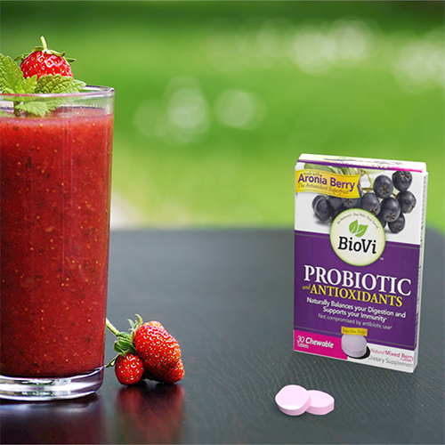 Spinberry Smoothie + BioVi