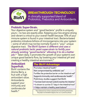 BioVi Probiotic Chewable Tablets - BioVi Probiotics