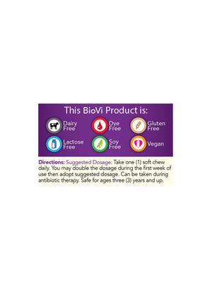 BioVi Probiotic Soft Chew - Chocolate - BioVi Probiotics