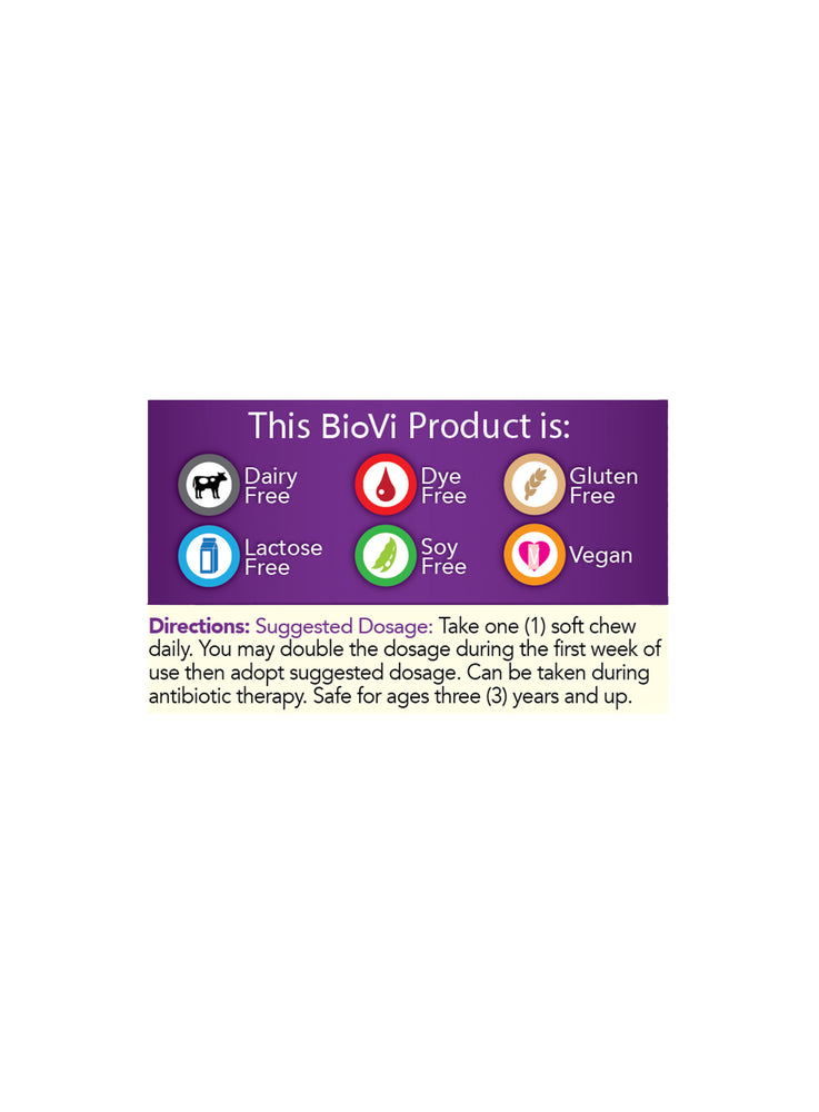 BioVi Probiotic Soft Chew - Mixed Berry
