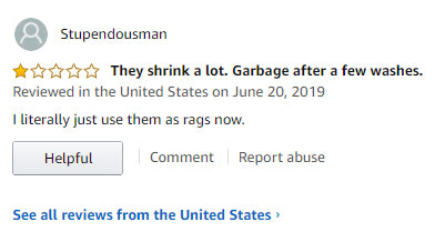 Amazon review