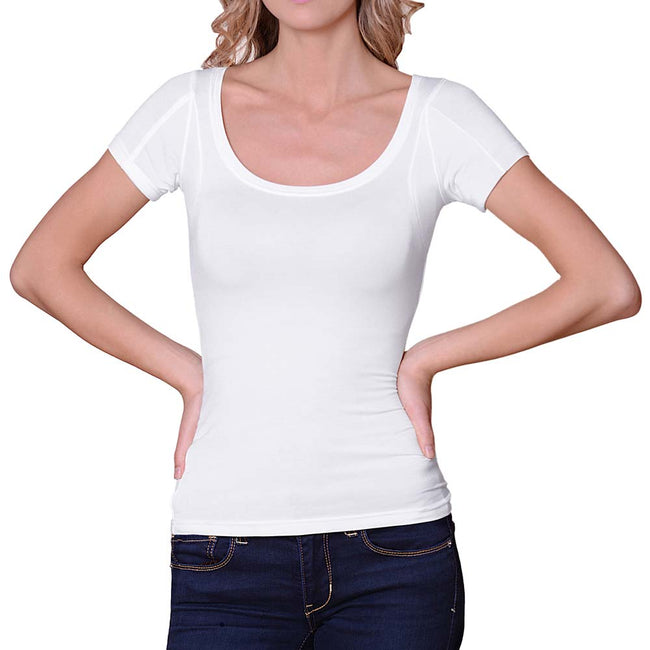 Women's Sweat Proof Undershirt (Scoop Neck)