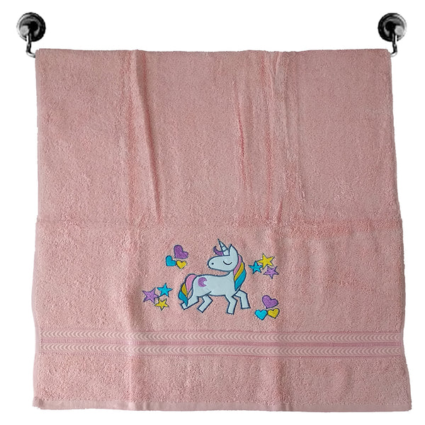 Premium Cotton Towel - The Magical Unicorn  | Towels & Wrappers