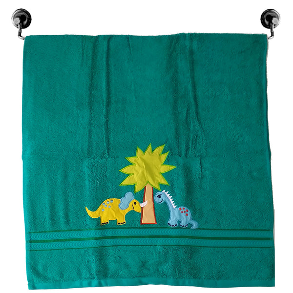 Premium Cotton Towel - Dino World | Towels & Wrappers