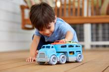 Green Toys CCRB-1237- Green Toys Car Carrier - Blue | Kids Toys | Age 3+