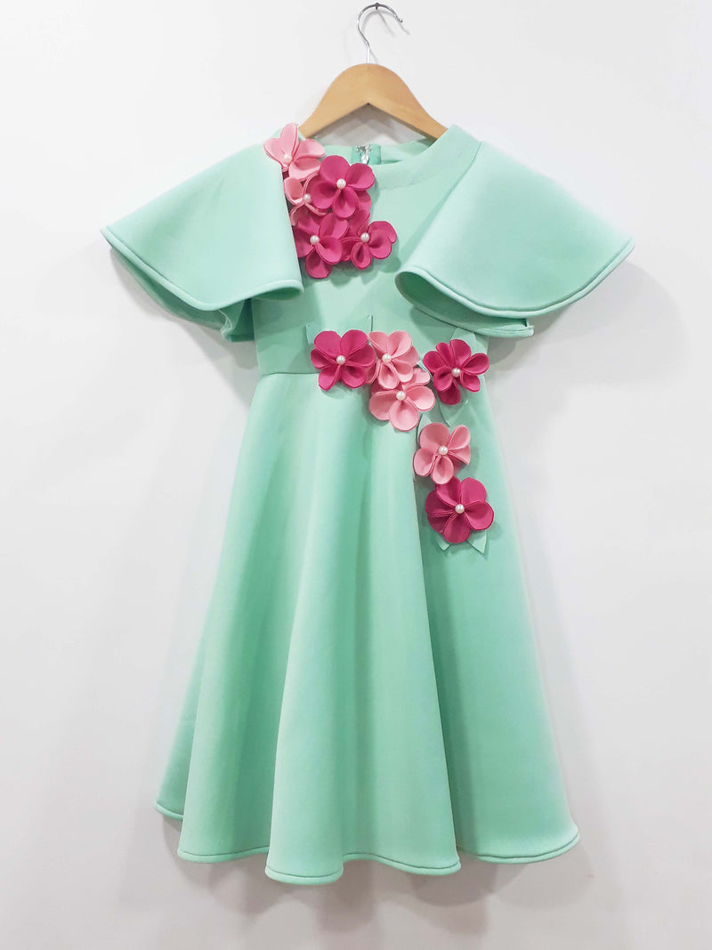 Mint Neon Gown themumsshop