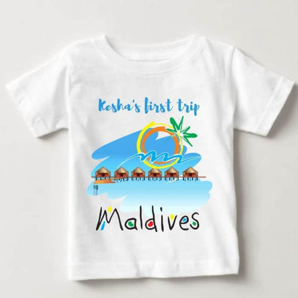 "Baby Romper ""My First Trip"" 