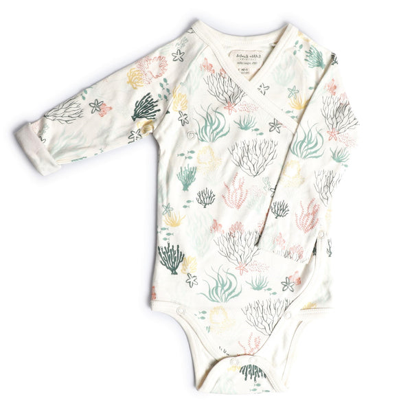 Kimono Style Baby Onesies - Under Water World | Baby Clothes