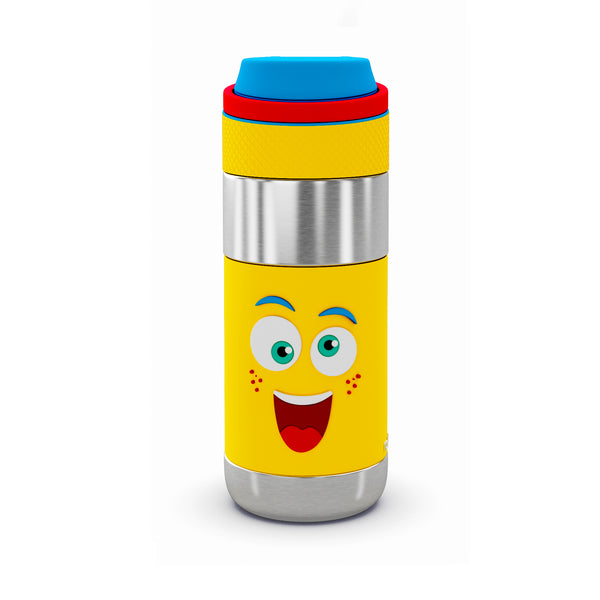 Rabitat Clean Lock Insulated Stainless Steel Bottle - Mad Eye - Kids Cups+Bottles