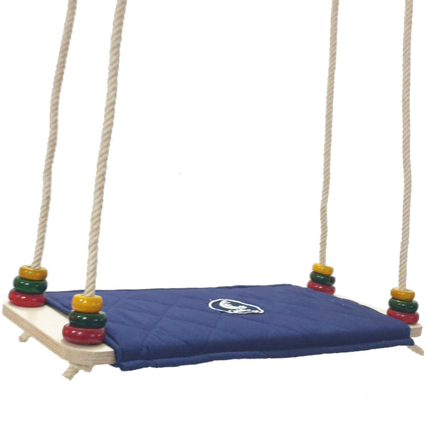 CuddlyCoo Wooden Kids Swing/Jhula- Cradle & Swing