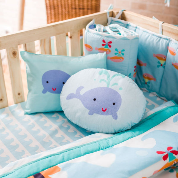 Baby Bedding Cot Set - Under Water Octi