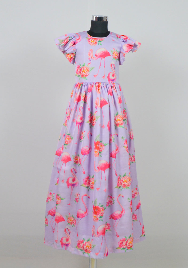 Flamingo Gown themumsshop
