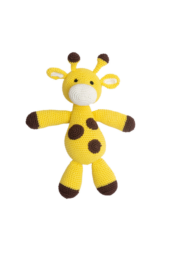 Amigurumi Soft Toy-Giraffe (Yellow & Black) | Crochet Toys