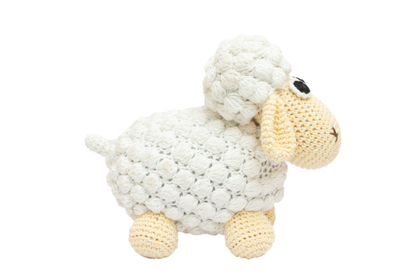 Amigurumi Soft Toy- Sheep (white) | Crochet Toys