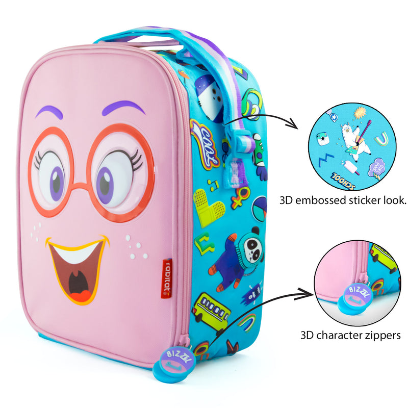 Rabitat Insulated Lunch Bag - Sizzle | Kids Lunch Bag/Box