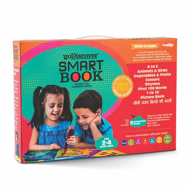 goDiscover SmartBook | Educational & Learning | Age: 2-4 Years