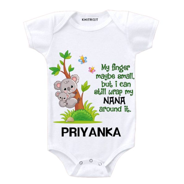 But, I Can Still Wrap My NANA Around It Onesie - Personalised Baby Onesie