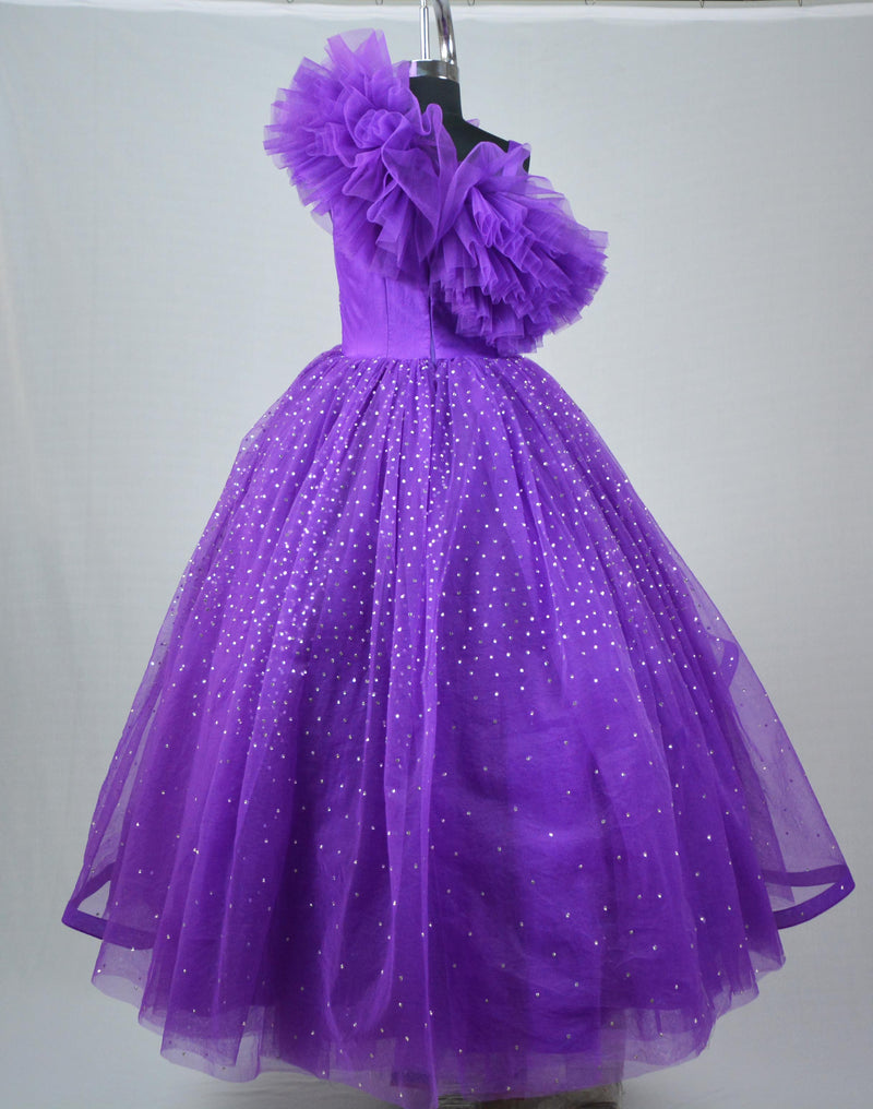 Purple Stone Gown themumsshop