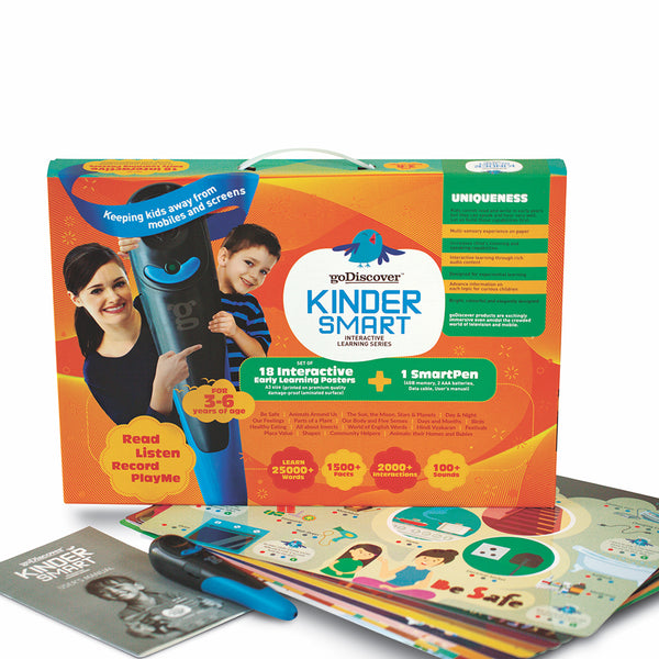 goDiscover KinderSmart | Educational & Learning | Age: 3-6 Years