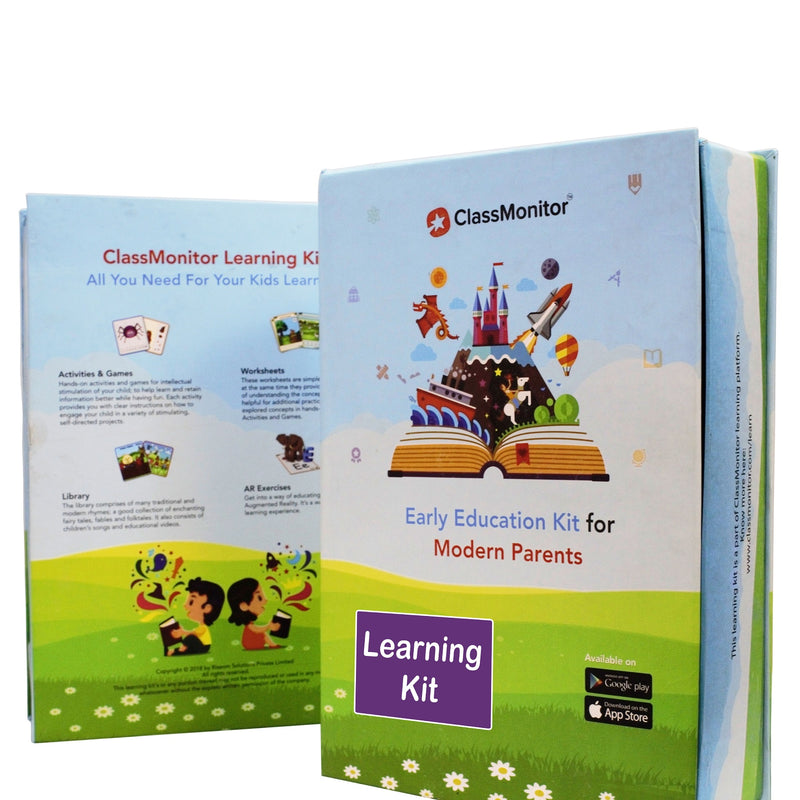 Home Learning Kit - Nursery 2.5-3.5 Years themumsshop