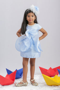 Blue Wire Frock themumsshop