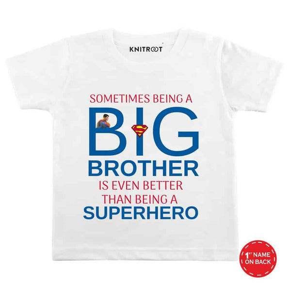 Big Brother B - Personalised Tshirt