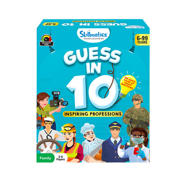 Guess in 10 - Inspiring Professions - Educational & Learning - For Age 6 Years+