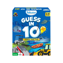 Guess in 10 – Things That Go! | Educational & Learning | For Age 6 Years+