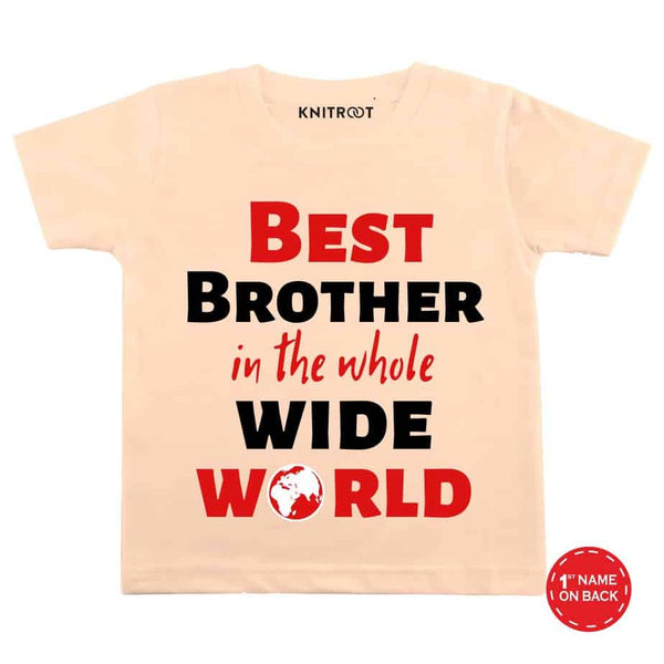 Best Brother C - Personalised Tshirt