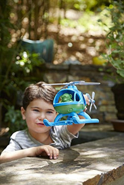 Green Toys Helicopter - Blue | Kids Toys | Age 2+