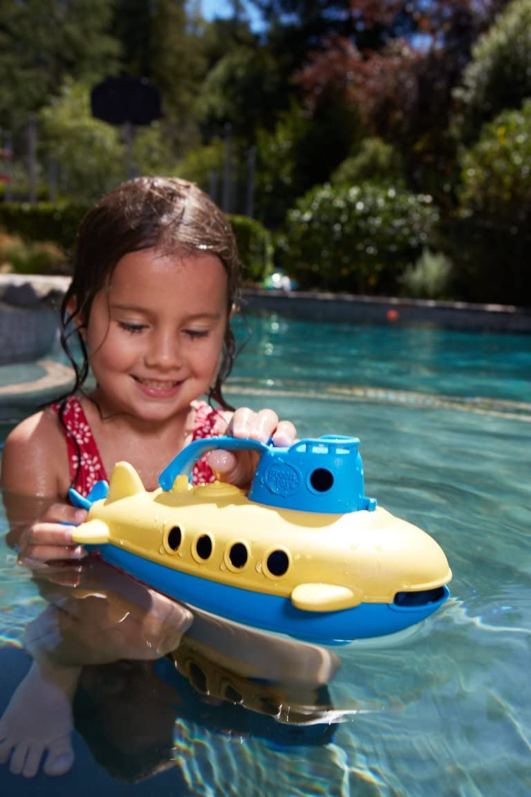 Green Toys Submarine- Blue Top | Baby Toys | Kids Toys | Age - 6 Months+