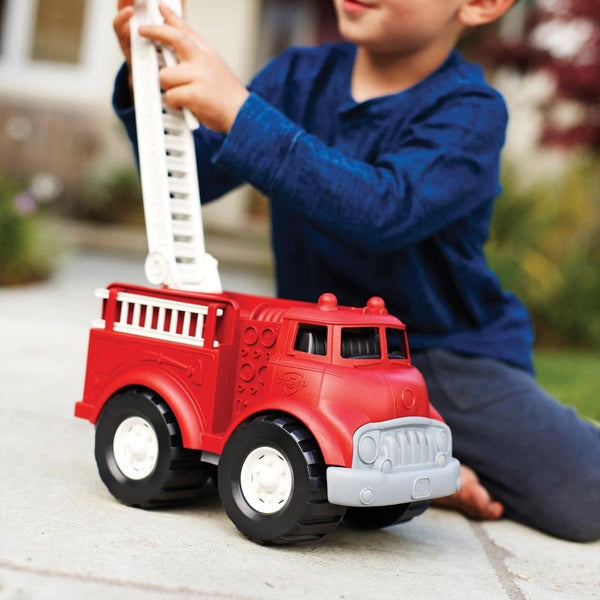 Green Toys FIRE TRUCK - Red | Baby Toys | Kids Toys | Age 1+
