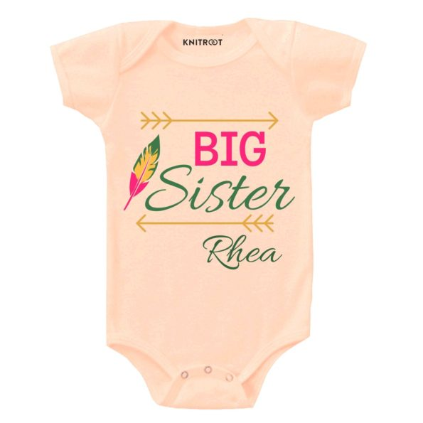 Big Sister 2 - Personalised Baby Onesie