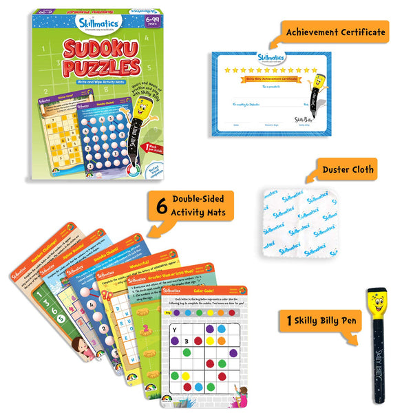 Sudoku Puzzles | Educational & Learning | For Age 6 Years+