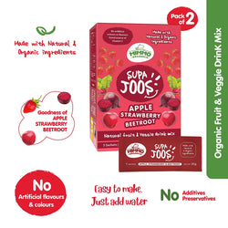 Supa Joos | Apple, Strawberry & Beetroot Juice mix - 100 g x Pack of Two themumsshop