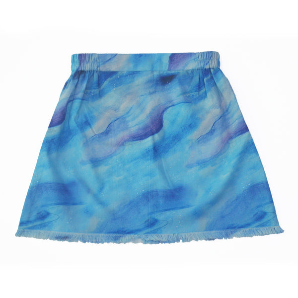 Cloudy Button-Up Skirt themumsshop