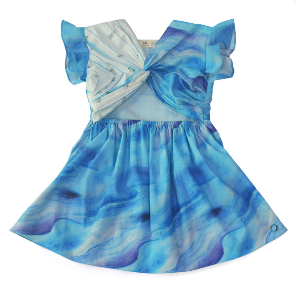 Cloudy Knotted Dress themumsshop