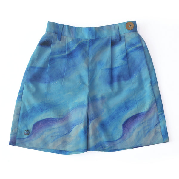 Cloudy Unisex Shorts themumsshop