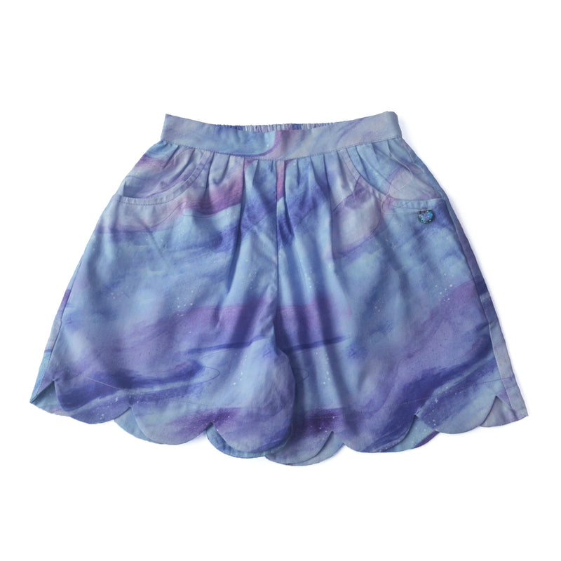 Twilight Scallop Shorts themumsshop